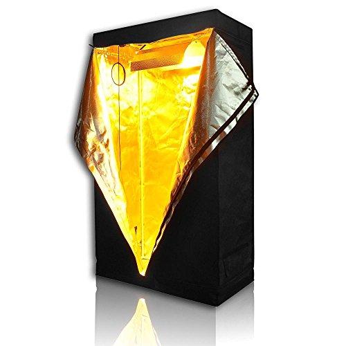 Lagarden 36x20x62 100 reflective diamond mylar for Indoor gardening reflective material