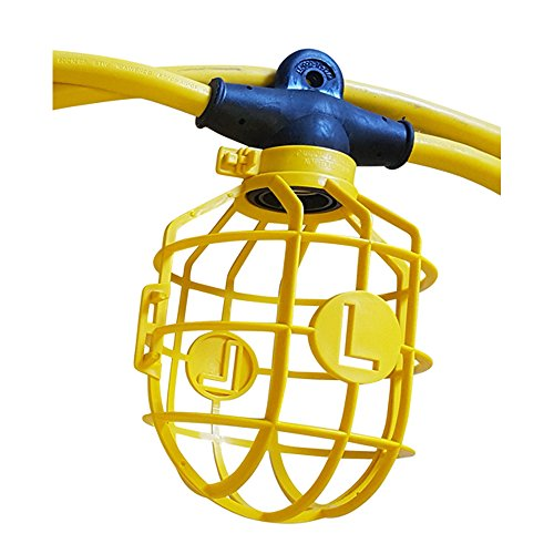 Construction Site String Lights: Lind Equipment TLS-100CG14 Contractor-Grade Stringlight