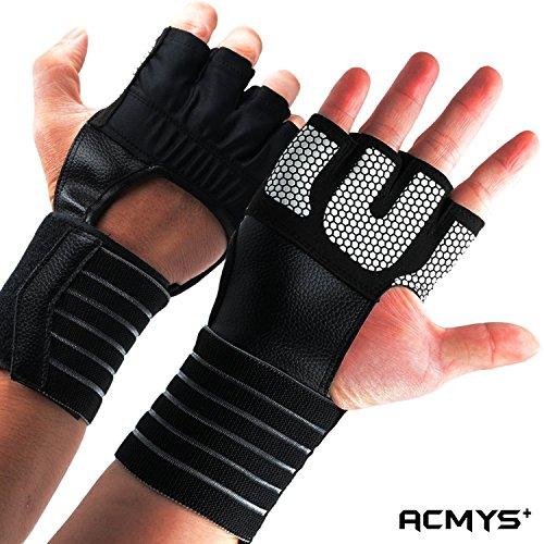 Aqf Weight Lifting Gloves Ultralight Breathable Gym Gloves: Acmys New Weight Lifting Gloves With Wrist Straps