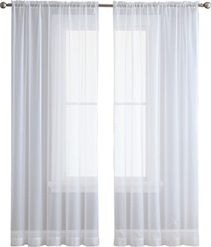Kenney Ball End Double Window Curtain Rod 66 To 120 Inch
