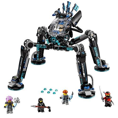 LEGO Ninjago Movie Water Strider 70611 Building Kit 494 ...