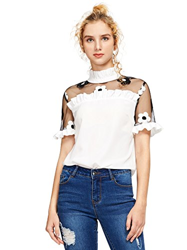 456f51f1 Elegant and fashion school style top, club and daily wear, suit for party,  perfect for Summer. Hand wash with cold water, don't bleach dry flat.
