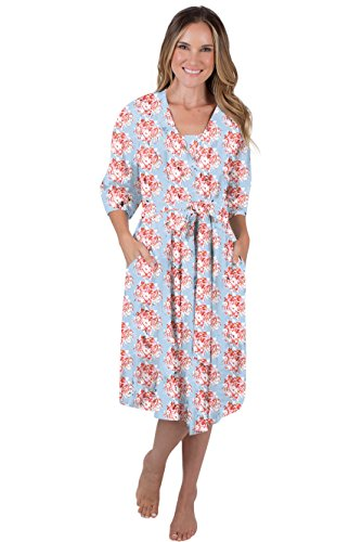 7c7e38b8e6 Baby Be Mine Maternity Labor Delivery Nursing Robe Hospital Bag Must Have  L XL pre Pregnancy 12-18