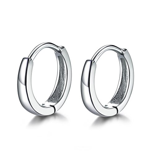 da9ee14402d 925 sterling silver, lead and nickel free. Earring diameter:1. 3cm05in.  Thickness:3. 2mm. Wrapped in a good quality gift box. Best gift for  christmas day, ...