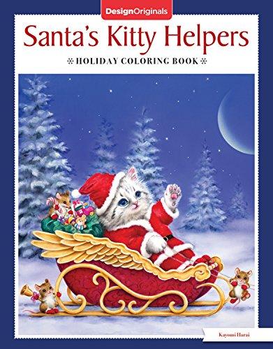 Santa S Kitty Helpers Holiday Coloring Book Design Originals 32