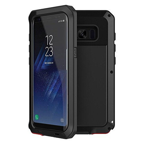 Specifically designed for Samsung Galaxy S8, Full Screen Coverage, Case Friendly. Heavy duty: very strong with metal bumper, offers fantastic protection, ...