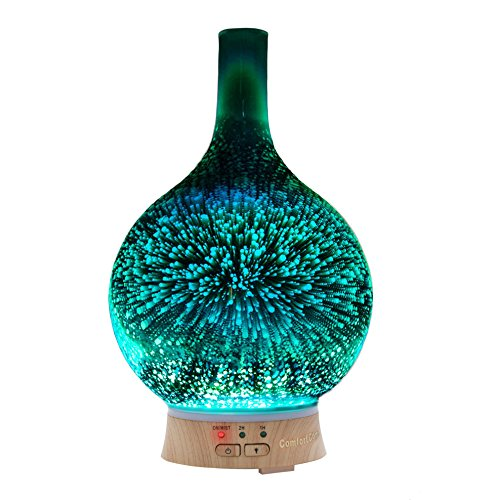 Coosa Essential Oil Diffuser Handmade Art Glass Vase 100ml