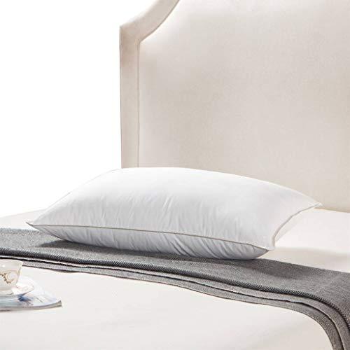 Egyptian Bedding Goose Down Pillow 1200 Thread Count