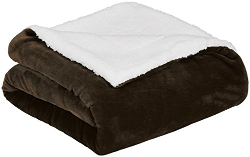 Chezmoi Collection Fs200 Micromink Sherpa Reversible Throw